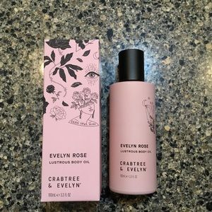 Crabtree & Evelyn Evelyn Rose Lustrous Body Oi
